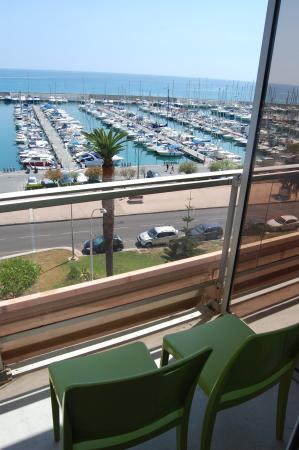 Ibis Budget Menton: Вид с балкона