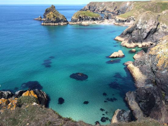 Lizard Point and Kynance Cove - Picture of The Lizard and Kynance ...