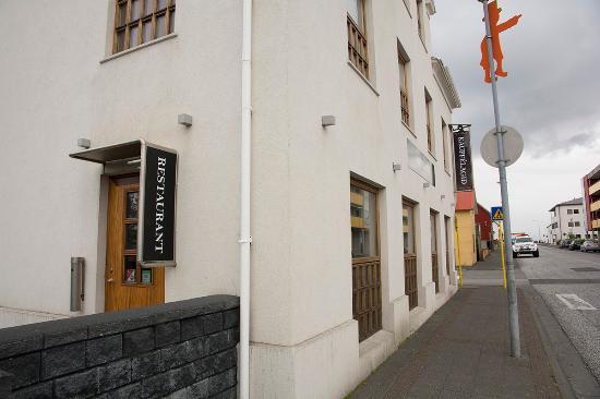 Gamla Kaupfelagid: レストランの外観