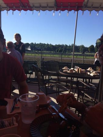 ‪Clubhouse Breakfast at Saratoga Race Course‬