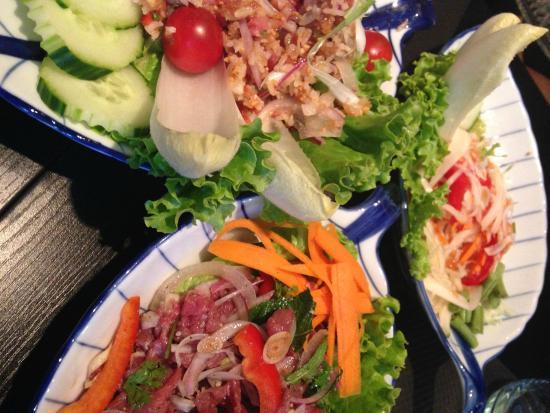 Salade Thai Salade De Papaye Verte Et Bouef Marine Picture Of