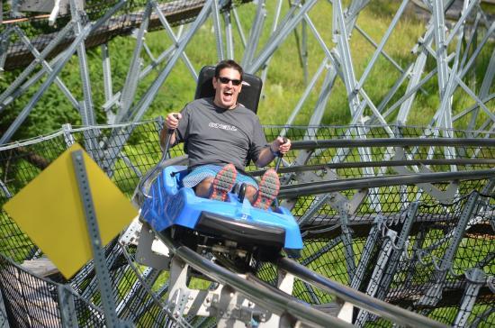 Mountain Coaster Picture Of Camelback Mountain Adventures Tannersville Tripadvisor