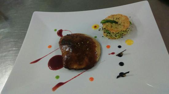 Étape gourmande et cuisine créative par un jeune chef passionné