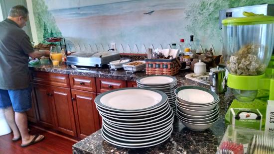 Inn The Gardens B&B: An Amazing Breakfast Buffet