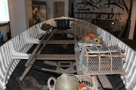 The Mo, Sheringham Museum: A great display of old boat building tools.