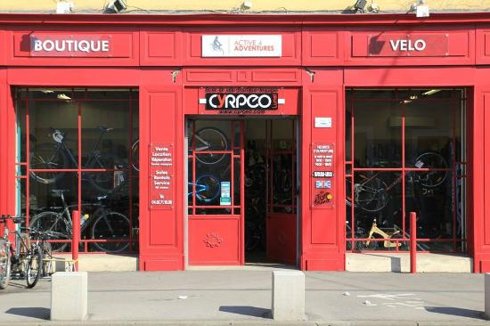 Our bike shop in Lunel