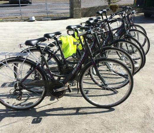 Killala, Ireland: Some of our bikes available to rent