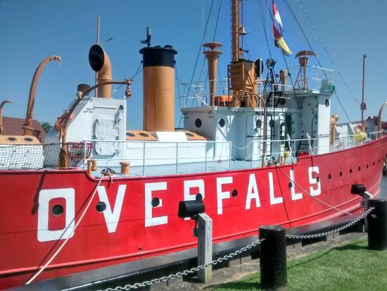 Fees of the ship tour - Picture of Lightship Overfalls, Lewes ...