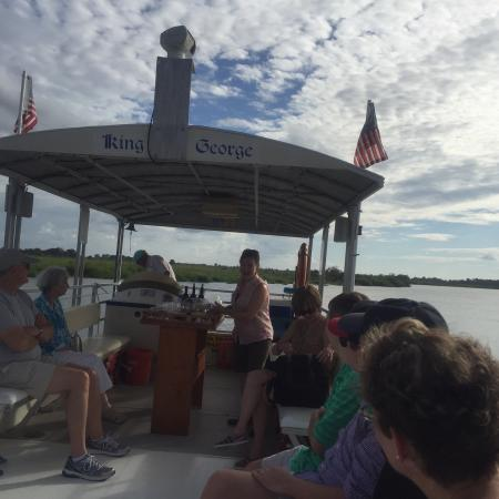 Darien River Wine and ECO Cruise: Our annual family vacation & our 2nd time on the river cruise.