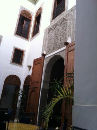 Riad Zamane: interno del riad