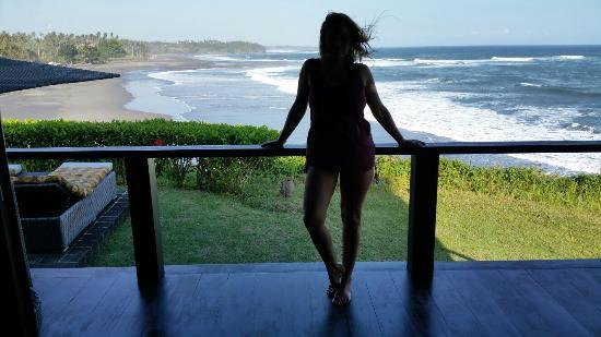 Gajah mina beach resort pardon mais woww la villa n 10 sur la falaise
