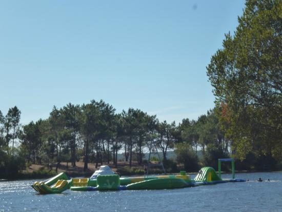 Hourtin, France: parcours splash park wibit