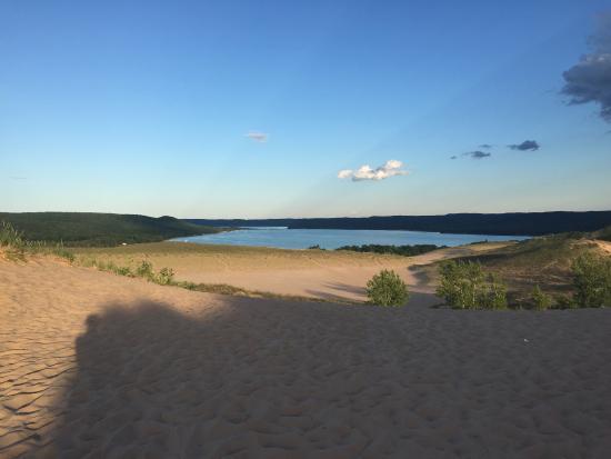 Sleeping Bear Heritage Trail : Sleeping Bear Dunes