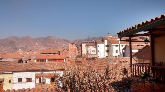 Amaru Hostal: Vista do Hotel Amaru I