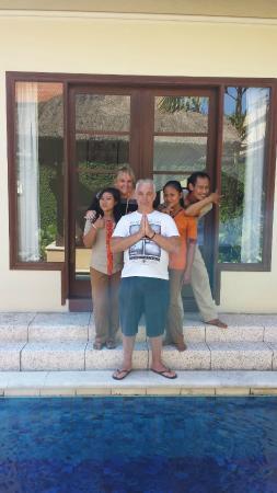 Villa Kecapi Bali: Fun, Friendly, Sensational Staff