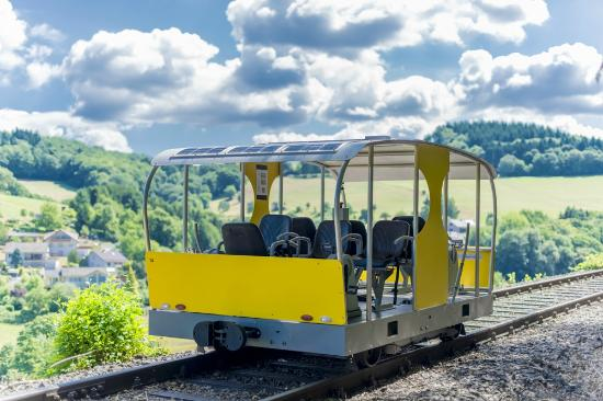 Wald-Michelbach, Alemanha: Solardraisine Blick ins Tal