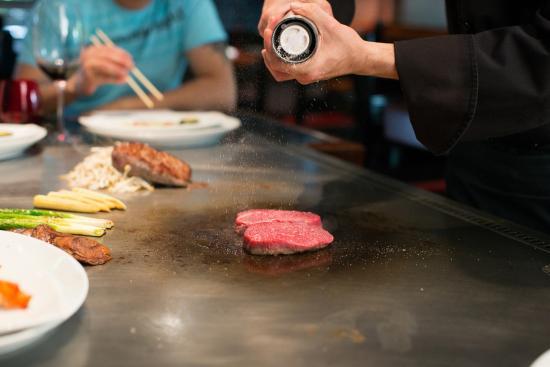 Restaurant Fujiya of Japan : Zartes Rinderfilet, perfekt gebraten