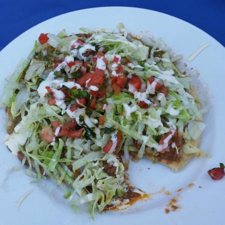 Jalapeno Loco Mexican Restaurant: The huarache