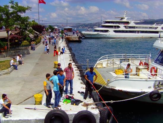 Anjer Hotel Bosphorus: Vue depuis la chambre