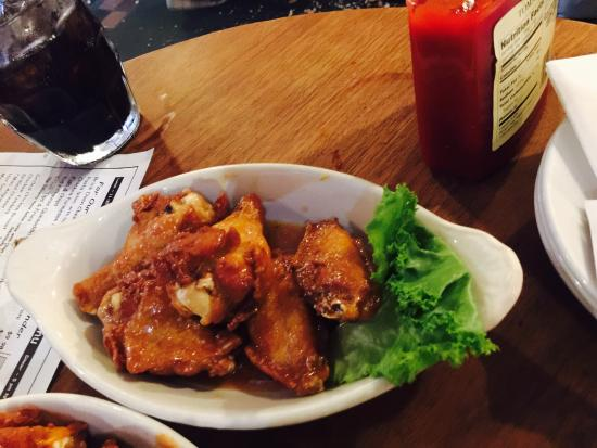 Salted Caramel Wings And The New England Clam Chowder