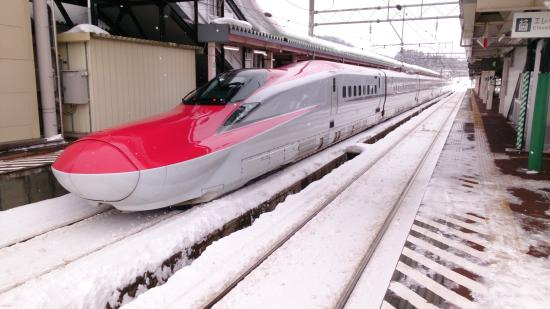 Tohoku, Japan: 秋田新幹線の角館駅にて撮影