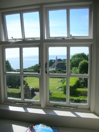 Strete, UK: Sea view from room
