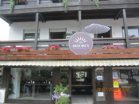 stylisches cafe in bad feilnbach back ma s backmanufaktur bad feilnbach reisebewertungen tripadvisor