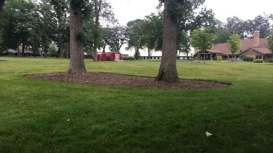 Delavan, WI: View from our patio.