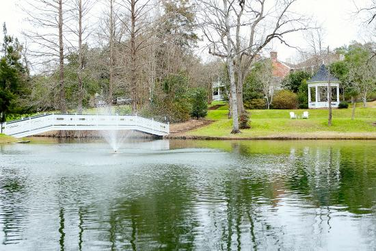 Natchez, MS: Pond, Fountain, Proposal Bridge