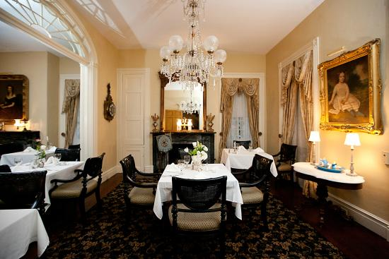 Natchez, MS: Former Ladies Parlor in Main House - Restaurant 1818