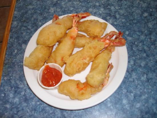 Fried shrimp serving of 8 picture of york fish chips for Fried fish and shrimp