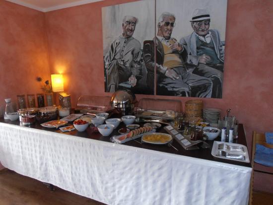Hotel Neuenfels: Petit déjeuner