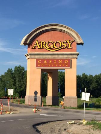 Riverside, MO: Entrance to the Argosy Casino