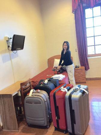 Don Bosco Hotel: nosso quarto...