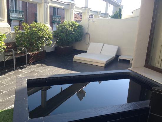 Terraza Con Piscina Picture Of Hotel Room Mate Alicia