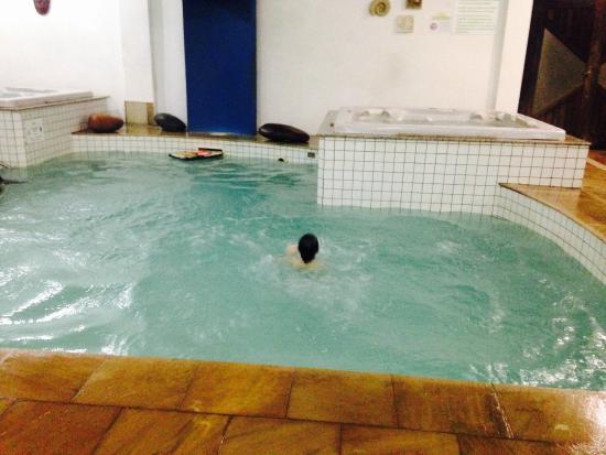 Pousada Pedra Da Ilha: piscina interna