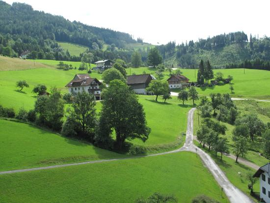 Gasthof Sonnfeld: view from the room