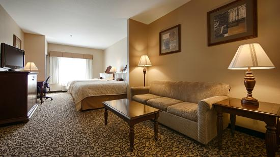 BEST WESTERN PLUS Fossil Country Inn & Suites: Guest Room