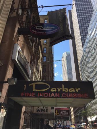 Darbar Fine Indian Cuisine: Sign