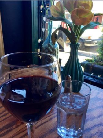 Fulio's Pastaria: love the window tables! :)