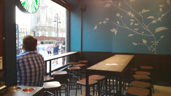 Starbucks Gran Via Madrid