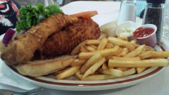 Chef Dato's Table: Gigantic fish sandwich!