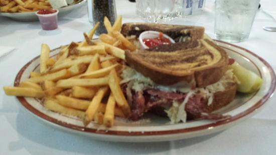 Chef Dato's Table: Reuben sandwich platter