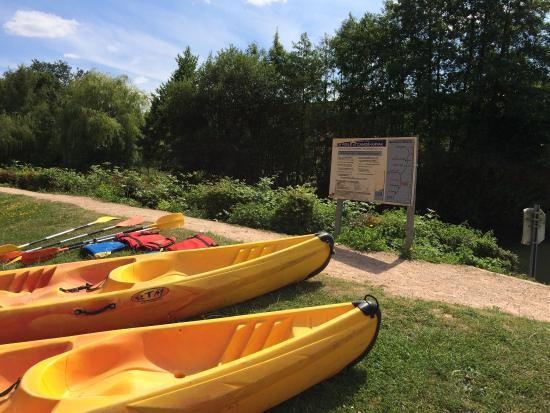 Brionne, Γαλλία: L'arrivée à Pont Authou
