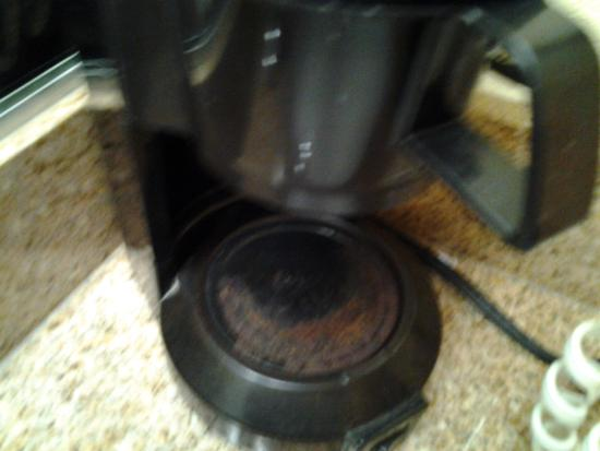 Quality Inn Wilmington: coffee maker