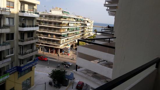 Hotel Oceanis Kavala: Vue balcon