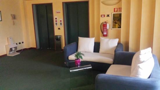 Leonardo da Vinci Hotel Erba : Hall