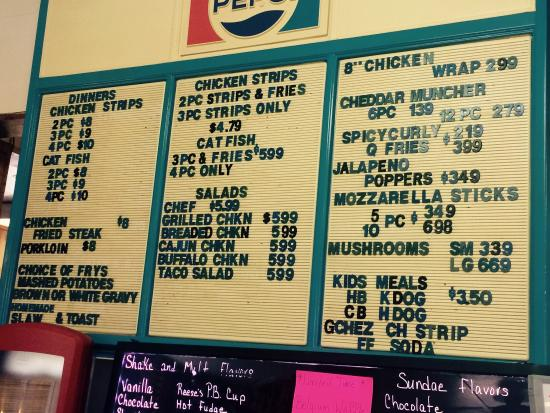 Gassville, AR: They have a diverse menu