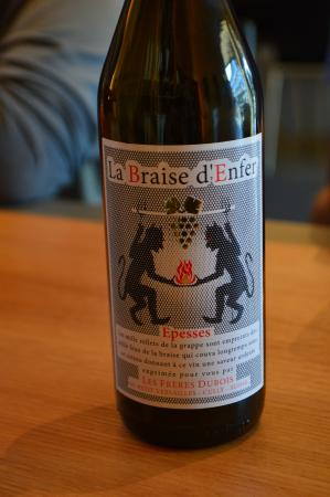 Les Freres Dubois : 1/2 bottle we liked + shared