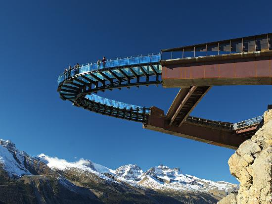 Glacier Skywalk in Jasper, Canada